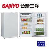 三洋SANYO  92公升一級節能單門冰箱 SR-92A3