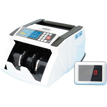 KRONE 全自動兩國貨幣鑑偽點驗鈔機 PC-168S