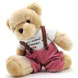 【安德魯】吊帶褲泰迪熊