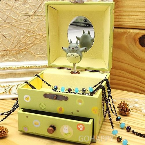 Sekiguchi~TOTORO龍貓~夢幻森林~飾品音樂盒