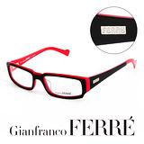 Glanfranco Ferre 義大利首席設計師完美幾何時尚設計造型鏡框 GF36301