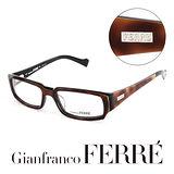 Glanfranco Ferre 義大利首席設計師完美幾何時尚設計造型鏡框 GF36303