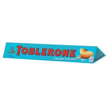 TOBLERONE瑞士三角巧克力鹹杏仁口味   100g