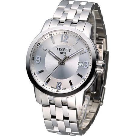 TISSOT PRC-200 200防水時尚紳士錶 T0554101103700