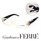 Glanfranco Ferre 義大利首席設計師完美幾何珠寶設計造型鏡框 GF36101
