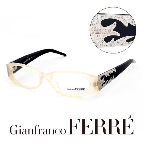 Glanfranco Ferre 義大利首席 師完美幾何珠寶 鏡框 GF36101