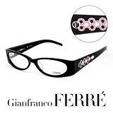 Glanfranco Ferre 義大利首席設計師完美幾何珠寶設計造型鏡框 GF33802