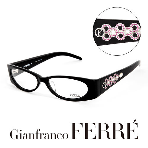 Glanfranco Ferre 義大利首席 師完美幾何珠寶 鏡框 GF33802