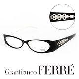 Glanfranco Ferre 義大利首席設計師完美幾何珠寶設計造型鏡框 GF33801