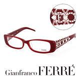 Glanfranco Ferre 義大利首席設計師完美幾何珠寶設計造型鏡框 GF33601