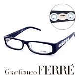 Glanfranco Ferre 義大利首席設計師完美幾何珠寶設計造型鏡框 GF33701
