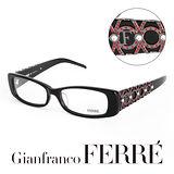 Glanfranco Ferre 義大利首席設計師完美幾何珠寶設計造型鏡框 GF33604