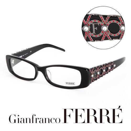 Glanfranco Ferre 義大利首席 師完美幾何珠寶 鏡框 GF33604