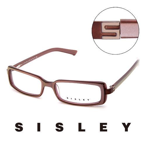Sisley 法國 希思黎 低調 平光眼鏡^(藕^) SY02102
