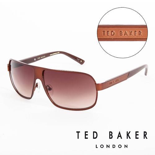TED BAKER 倫敦  太陽眼鏡^(咖啡^) TB1241175