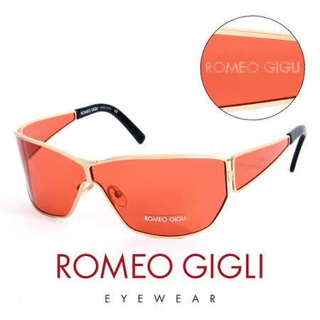 Romeo Gigli 義大利 頂級金框造型太陽眼鏡(紅) RG191SA07