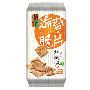 橘平屋海苔脆片胡椒味120g