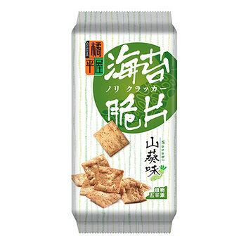 橘平屋海苔脆片山葵味120g