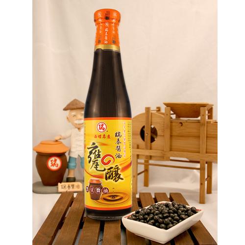 瑞春西螺瑞春甕釀黑豆醬油 420ml