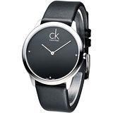 cK 都會之星時尚真鑽紳士錶K3M211CS