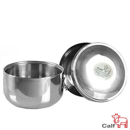 【牛頭牌】 BUFFALO 小牛雙層不鏽鋼保溫隔熱餐盒 (2入)