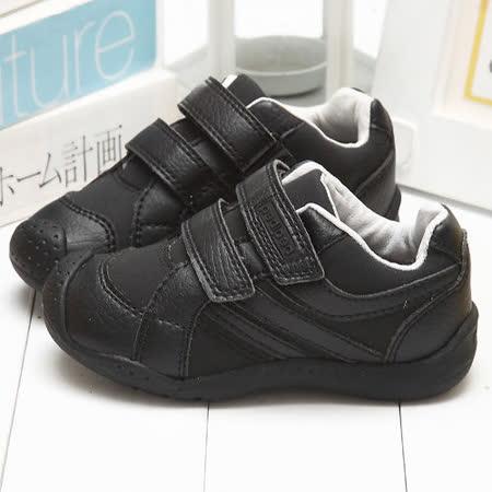 【童鞋城堡】Pediped限量品味酷勁黑學步休閒鞋{美國品牌}RS1960