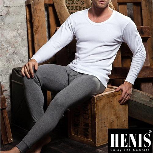 【HENIS】精典時尚型男純棉彩色衛生褲~3件組(隨機取色)