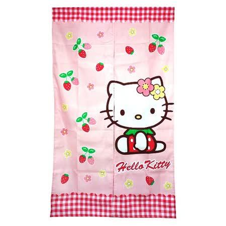 Hello Kitty草莓長門簾85x150cm(KT0529)