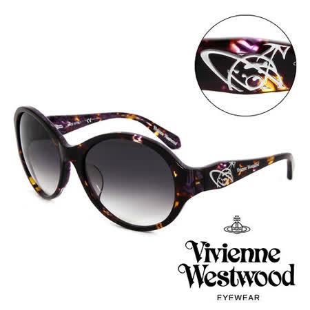 Vivienne Westwood 英國薇薇安魏斯伍德英倫龐克太陽眼鏡(咖啡) VW78602