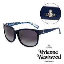 VVivienne Westwood 英國薇薇安魏斯伍德英倫龐克太陽眼鏡(藍) VW78703