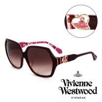 Vivienne Westwood 英國薇薇安魏斯伍德英倫龐克太陽眼鏡(酒紅) VW78802