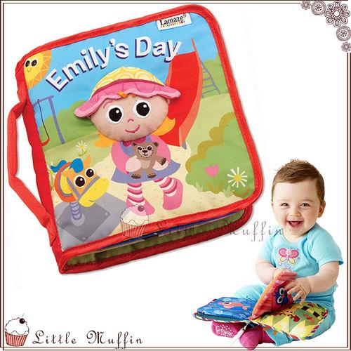 培養生活好習慣 寶寶的一天響紙互動學習布書/嬰兒布書[TOY005]【Little Muffin小馬芬】