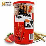【黑師傅捲心酥】捲心酥*24罐(草莓口味)
