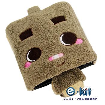 逸奇E-kit USB 可愛造型竹炭護腕保暖滑鼠墊 UW-MS20