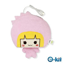 逸奇e-Kit 冬天保暖用品 保暖滑鼠墊 USB保暖手墊 可拆洗 UW-MS29-粉紅公主