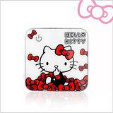 Hello Kitty 炫彩合金 巧方塊限定版7800mAh 行動電源(KT-PBA7800-1) 閃耀白