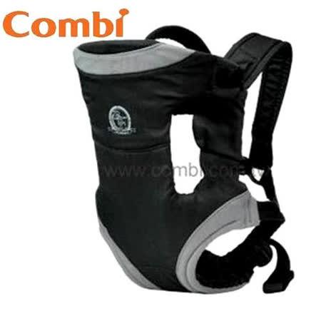 康貝Combi 舒適型幼兒二用背巾 (經典黑)