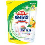 《魔術靈》地板清潔補充包-鮮採檸檬1800ml