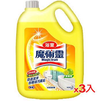 魔術靈浴室清潔量販瓶裝-檸檬香3800ml*3入(箱)