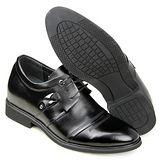 GOG高哥隱形增高鞋春秋系列41333二節頭邊扣增高6.5cm(2013-11)
