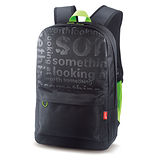 Genius GB-1500X 流行個性後背包-時尚潮包-(綠色)