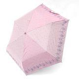 【TV雨傘王】手開傘系_星空蕾絲鋼筆傘(粉紅色)