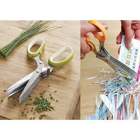 【PS Mall】家用碎紙剪刀 多層剪刀 (J496)