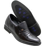 GOG高哥隱形增高鞋春秋系列411561荔紋軟面增高6.5cm(2013-11)
