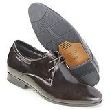 GOG高哥隱形增高鞋春秋系列712875經典亮面紳士鞋增高6.5cm(2013-11)