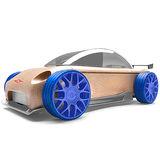 【AUTOMOBLOX 】德國原木變形車Mini S9R