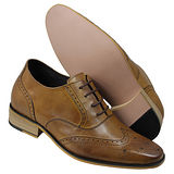 GOG高哥隱形增高鞋精品系列A91303典雅擦色增高6.5cm(2013-11)