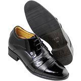 GOG高哥隱形增高鞋特高系列511621三節頭亮面增高8.0cm(2013-11)