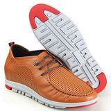 GOG高哥隱形增高鞋夏冬系列93976軟面繞線涼鞋增高6.5cm(2013-11)