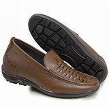 GOG高哥隱形增高鞋夏冬系列712863軟面荔紋涼鞋增高6.0cm(2013-11)